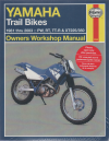 Yamaha Trail Bikes Workshop Manual 1981-2003 PW RT TT-R